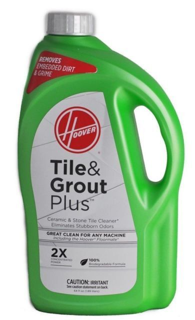 hoover 2x floormate tile grout plus hard floor cleaning solution 64 oz ah30430