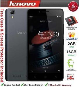 """Lenovo K10e70 5"""" Smartphone Quad Core Dual SIM 2GB RAM 16GB 4G LTE NEW"""