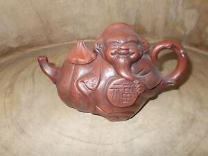 Yixing Chinese Teapot Smiling Buddha