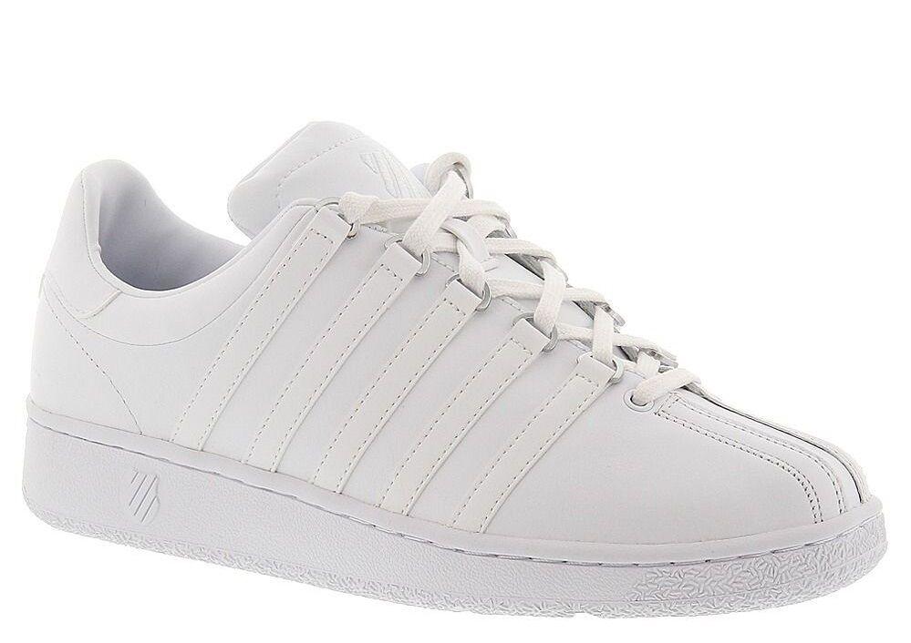 ผู้ชาย K-Swiss Classic VN Leather 03343-101 White White ของแท้ 100% ใหม่เอี่ยม - C'mon » TikTokJa Video Downloader