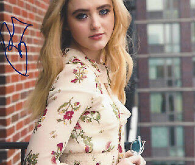 Kathryn Newton Signed Authentic Pokemon X Photo C W Coa