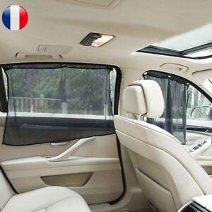 details sur 1 paire voiture fenetre laterale rideau anti uv soleil protection avec ventouse