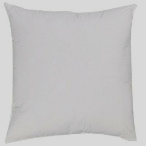throw euro square pillow insert 26 x 26 down alternative 1 or 2 pack bed pillows home garden