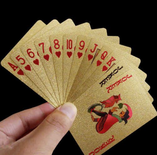 24K-Gold-Plastic-Waterproof-Cards-Golden-Playing-Cards-Deck-gold-foil-poker
