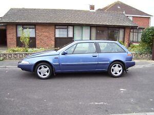 Volvo 480 s 2 Litre blue 1994