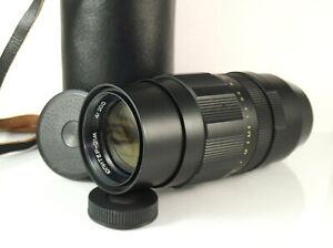 Jupiter-21M 200mm f4 TELEPHOTO lens mount M42 (Praktica ...