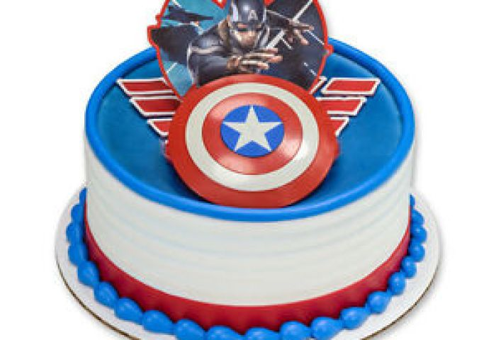 3d Cake Topper Captain America The Winter Soldier Wshield