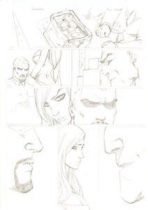 Deadpool #61 p.8 - Money Exchange - 2012 Signed art by Ale Garza