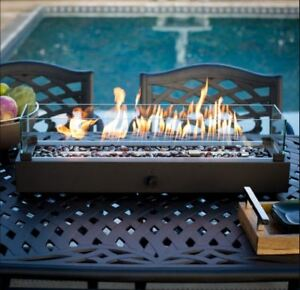 details zu outdoor tabletop gas fire pit patio hideaway table propane fireplace bowl heater