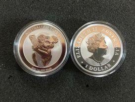 1 Dollar Australien 2020 Koala  - 1 Oz Unze Silber neu
