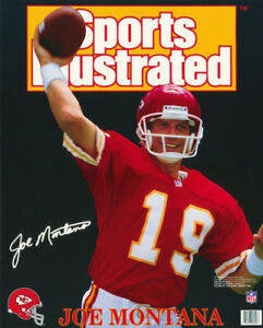 details about lot of 2 small posters nfl football joe montana k c chiefs 6256 rp69 l