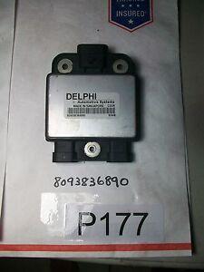 00 01 02 03 04 Isuzu Rodeo Ignition Misfire Module Sensor