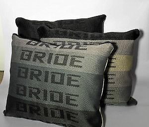 details about jdm bride pillow graduation for drift race school car back seat cushion gift