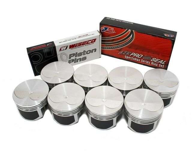 Wiseco Pts526a3 Pro Tru Pistons Small Block Chevy 305 2v Flat Top 30 Over Bore