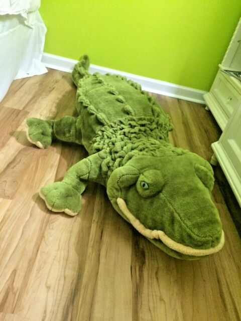 giant alligator stuffed animal by melissa doug 2173 6 feet long