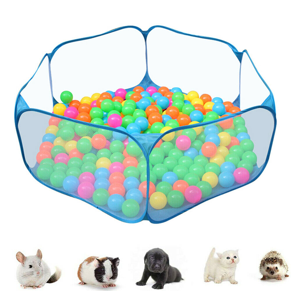 Foladable Pet Playpent Small Animal Mesh Cage Game Playground Fence for Hamster