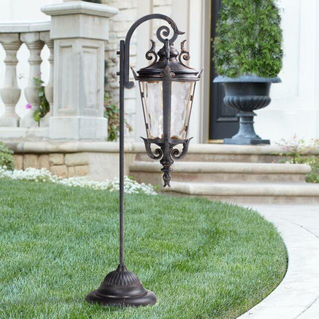 casa marseille bronze low voltage led landscape path light