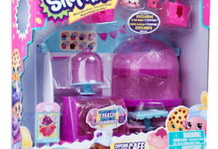 Shopkins Cupcake Queen Cafe Season 4 Playset Brand New Released Ebay