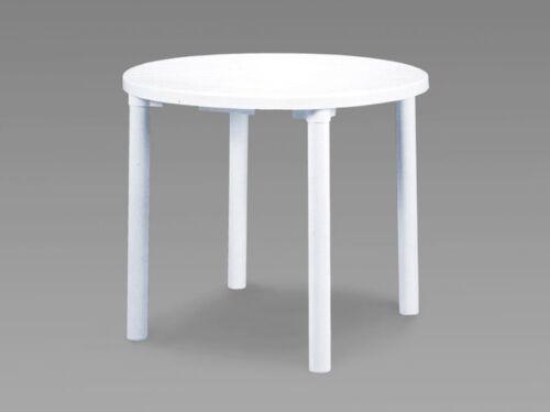 garden patio tables round white resin garden table patio outdoor bistro dining 90cm garden patio