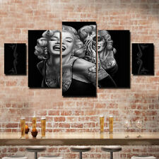 Modern Home Canvas Wall Decor Art Painting Picture Print Marilyn     Modern Home Canvas Wall Decor Art Painting Picture Print Marilyn Monroe 5  pcs US