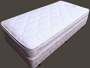 Image Is Loading Dream Weaver Gold White Mattress Bed Ensemble Brand