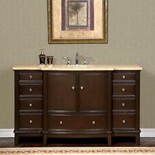 single left sink bath vanity cabinet