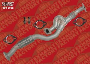 details about front exhaust flex pipe fits 2005 2008 hyundai tucson 2 7l eng v6 awd