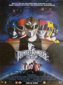 details about mighty morphin power rangers the movie tv series original movie poster