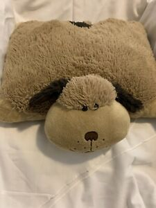 details about clean soft sweet no flaws dog pillow pet 18 plush puppy brown stuffed toy