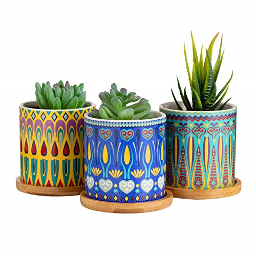Flower Planter 3 Small Pots Indoor Gardening For Sale Online Ebay
