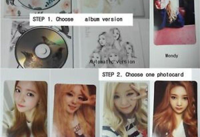 Red Velvet 1st Mini Album Ice Cream Cake Selected Cd Booklet