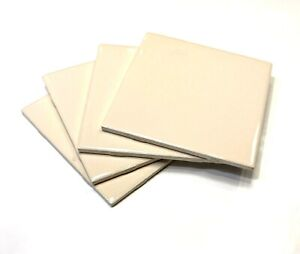 details about 6x6 polished almond ceramic backsplash wall tile bath kitchen 1sf
