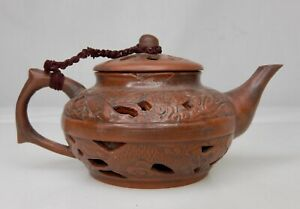 Chinese Yixing Zisha Pottery Miniature Teapot - 84581
