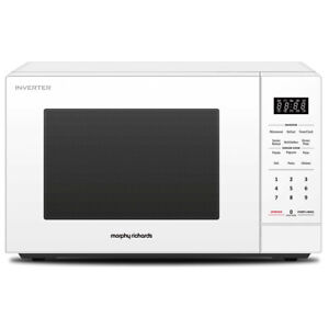 details about morphy richards 34l 1200w inverter microwave oven w digital touch control white