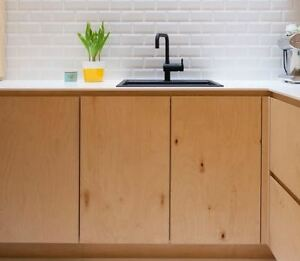 Baltic Birch Plywood Kitchen Doors Standard And Custom