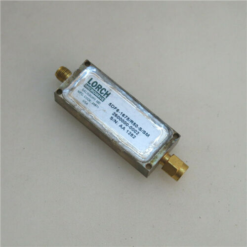 electrical equipment supplies lorch 5df 1675 r50 s sm 1675mhz rf sma rf coaxial bandpass filter business industrial