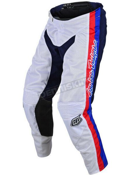 pantaloni motocross enduro GP Air Premix 86 Troy Lee Designs TLD 20496400 bianco
