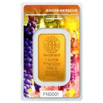 Goldbarren Following Nature Herbst 2018 Heraeus 1 Unze in CoinCard 999,9er Gold