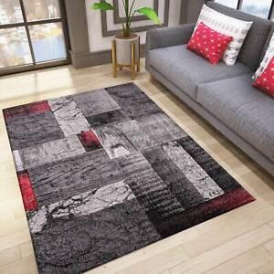 details sur tapis design salon design d interieur moderne rouge