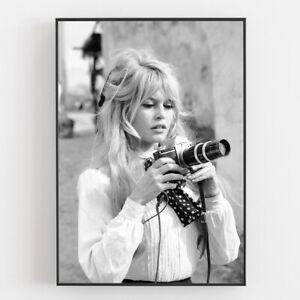 brigitte bardot fotografie als poster
