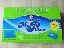 go anywhere my pillow with pillowcase daybreak blue size 12 x 18