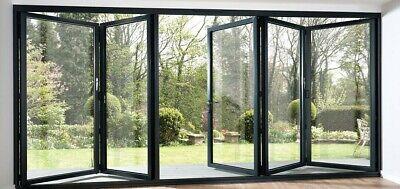 120 x 80 aluminum bifold multi fold patio door custom made to order ebay