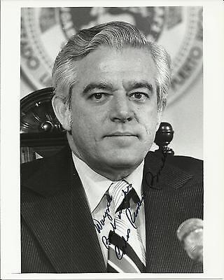 Carlos Romero Barcelo-Porto Rico Governador Autografado 8x10 Foto Com Carta  | eBay