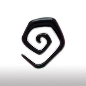 Schwarz Kunststoff Dehnungsspiral