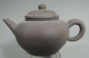 Very Fine China Chinese Pottery Yixing Teapot Signed on Base ca. 20th century