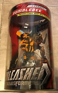 Transformers Bumblebee Autobot Unleashed w/ Exclusive Comic Book Figure NEW