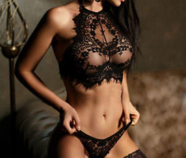 Image Is Loading Women Underwear Set Lingerie Lace Flowers Pushup Top