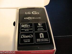 NEW LG G3 Stylus D850 Black Grey (Unlocked) Smartphone GSM Micro Sim Card 13MP