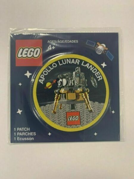 LEGO Apollo 11 Lunar Lander NASA Space Patch 5005907 for ...