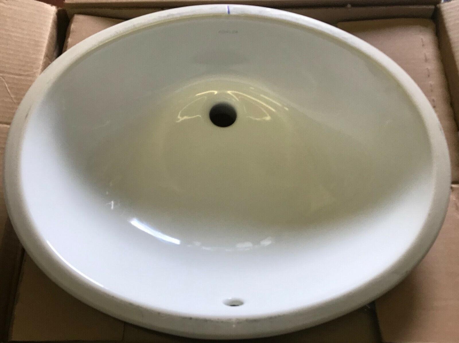 kohler k22110 caxton undercounter bathroom sink white